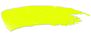fabric art colour swatch fluro yellow