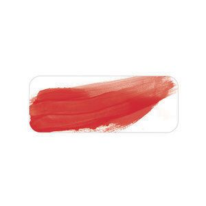Watercolour colour swatch pyrrole red
